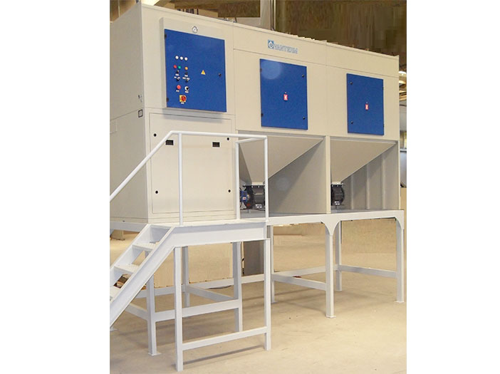 Dust-extraction-of-an-automatic-high-speed-sand-blasting-application-photo-2